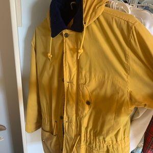 Kaotic Rain Jacket Yellow Small